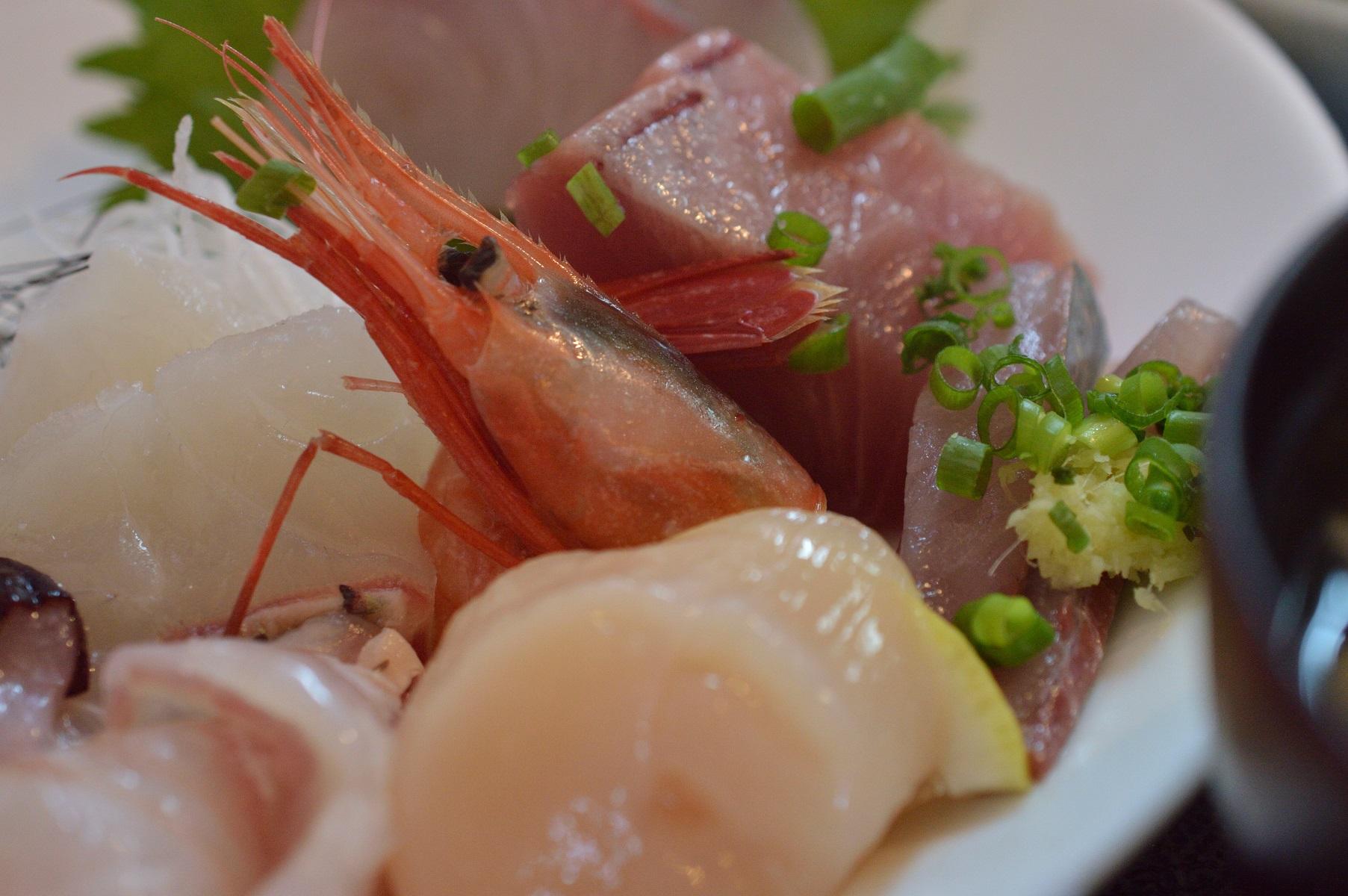 魚康 えびとマグロ