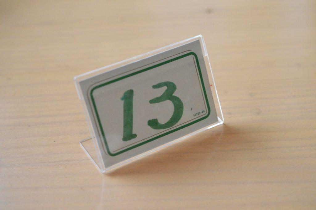 茨城 ひたちなか 餐粉の励 番号札