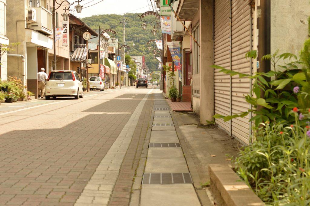 daigo cafe への道