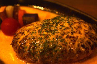 【リトル リンダ】これは必食!燻製ハンバーグ@茨城県ひたちなか市