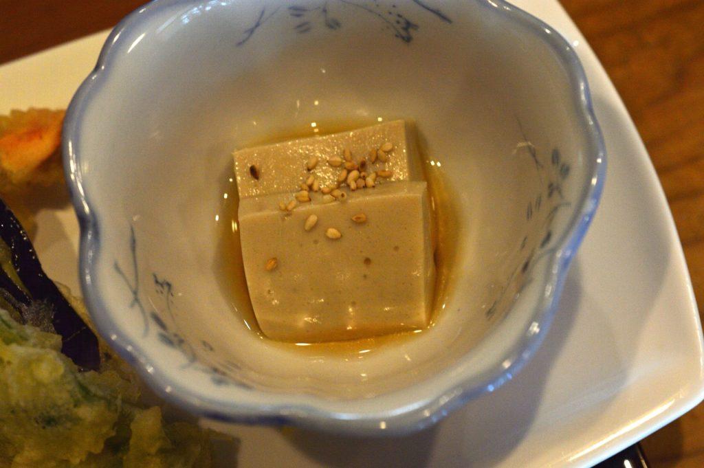 ひたちなか市 寿司割烹 梅本 特製梅本ランチ ゴマ豆腐