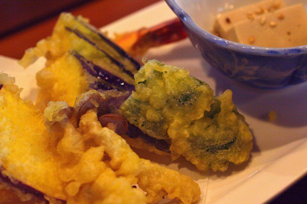 ひたちなか市 寿司割烹 梅本 特製梅本ランチ 天ぷら02