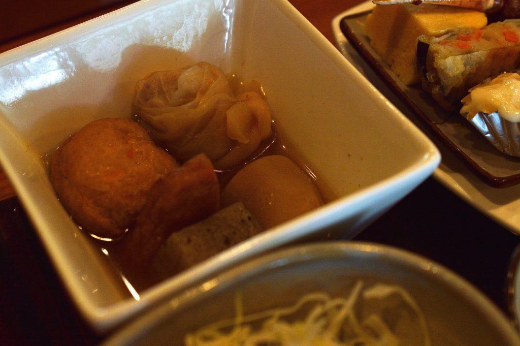 ひたちなか市 寿司割烹 梅本 特製梅本ランチ 煮物
