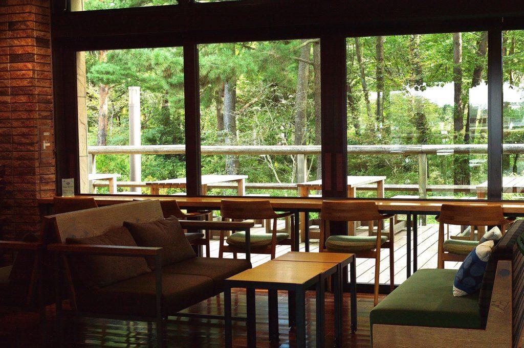 ひたち海浜公園 記念の森レストハウス 店内