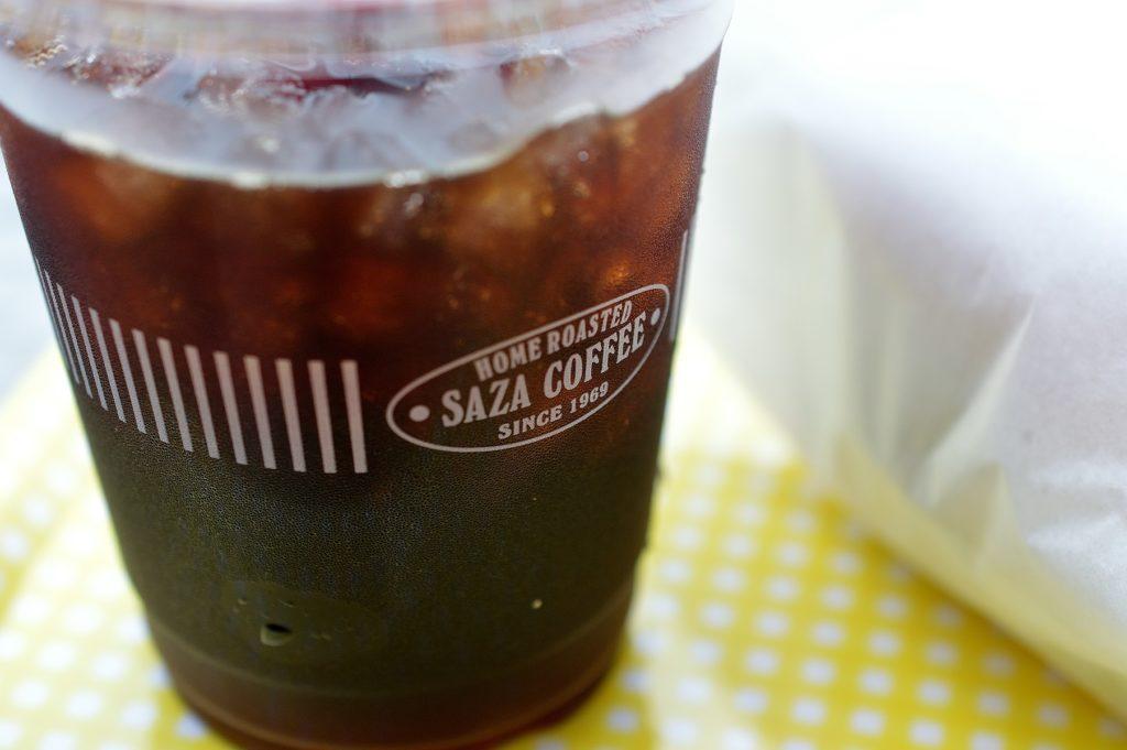 日立市 かみね動物園 エレファント・カフェのアイスコーヒー