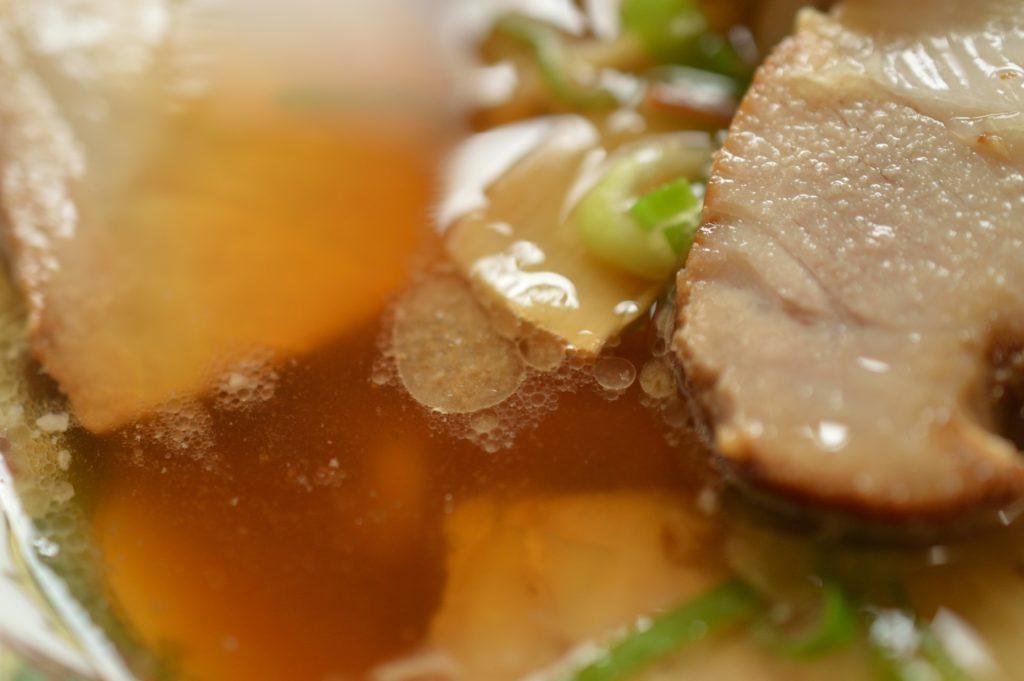 福島県喜多方市 喜多方ラーメンすがい スープその2