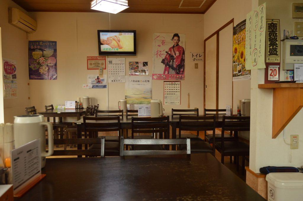 福島県喜多方市 喜多方ラーメンすがい 店内の様子
