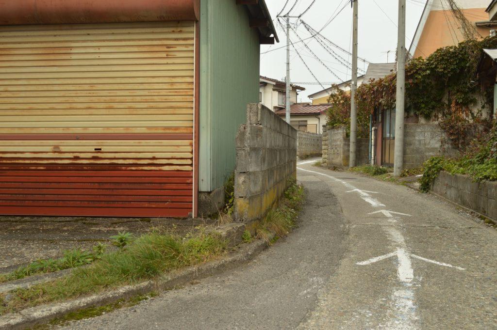 福島県喜多方市 観光 路地裏3
