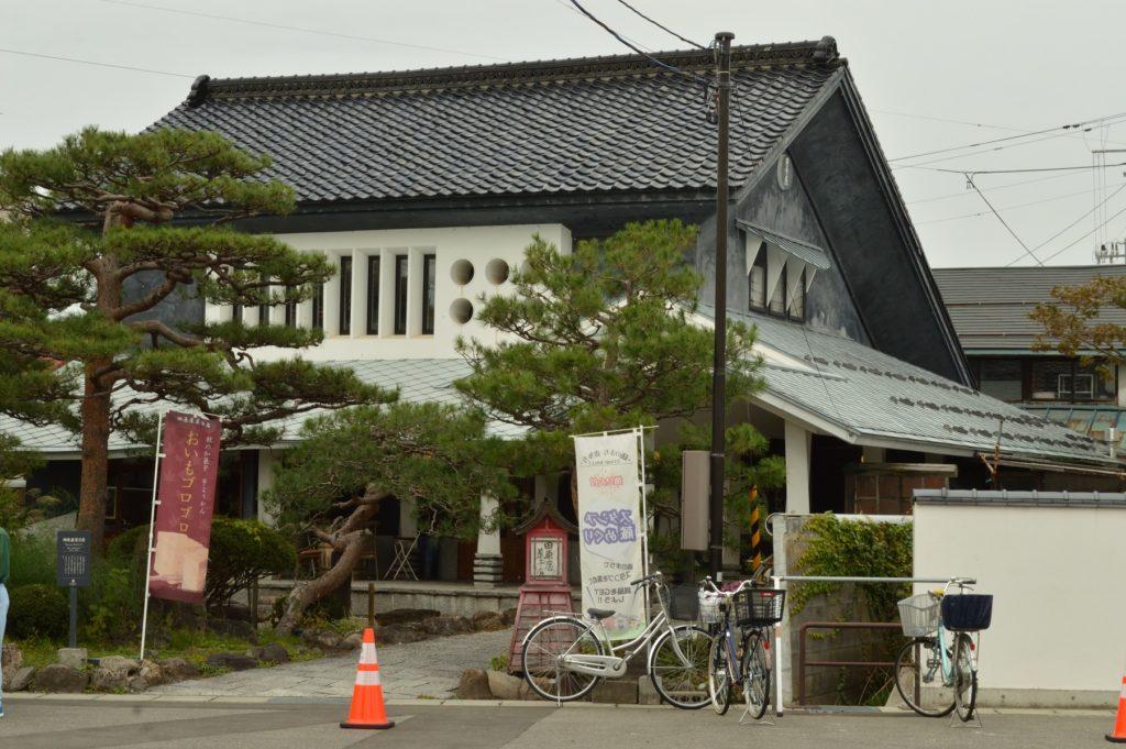 福島県喜多方市 観光 駐車場近くのカフェ