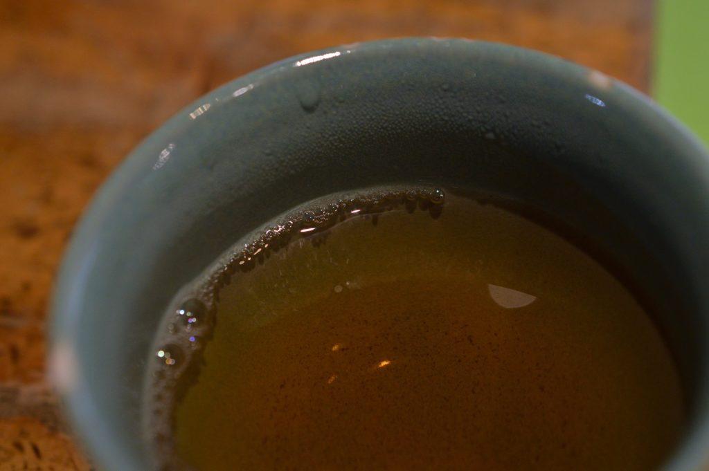 福島県 大内宿 山形屋 お茶