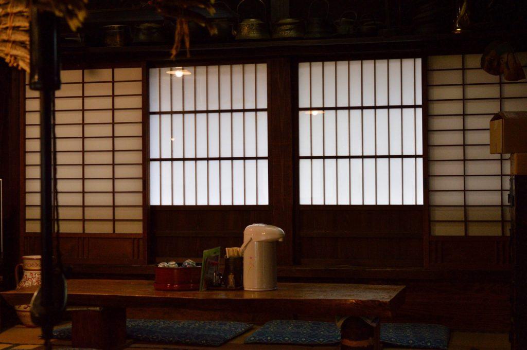 福島県 大内宿 山形屋 店内の様子 (3)