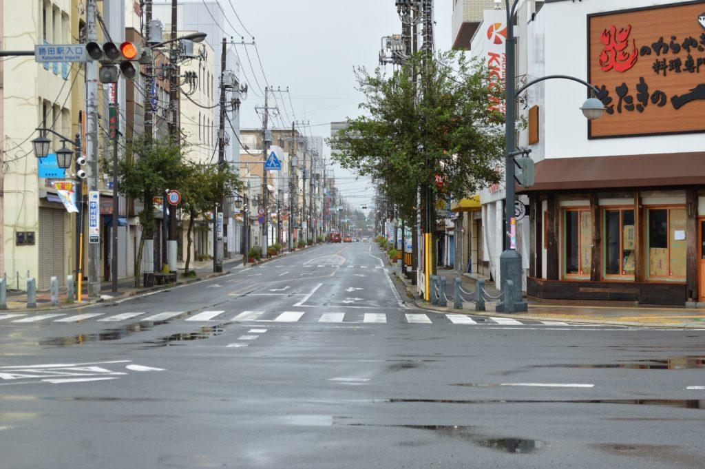 茨城県ひたちなか市2019年10月12日の様子 (1)