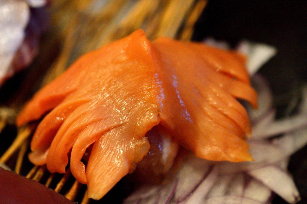茨城県ひたちなか市2019年10月13日 旬彩かすが 本日の刺身盛り定食 貝