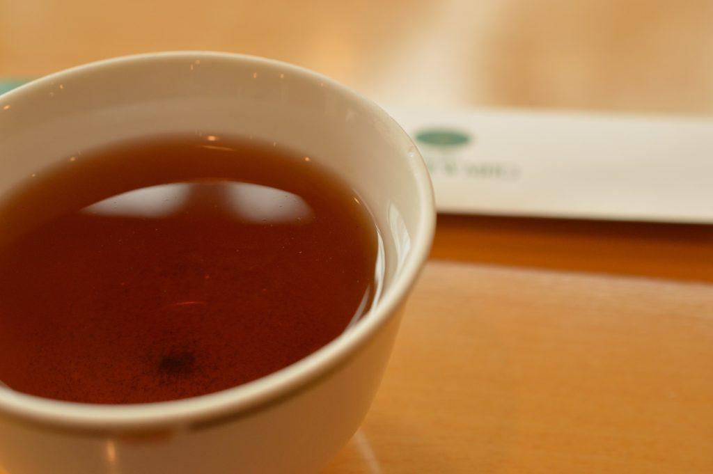 茨城県水戸市 ホテルレイクビュー 日本料理 花結び ほうじ茶