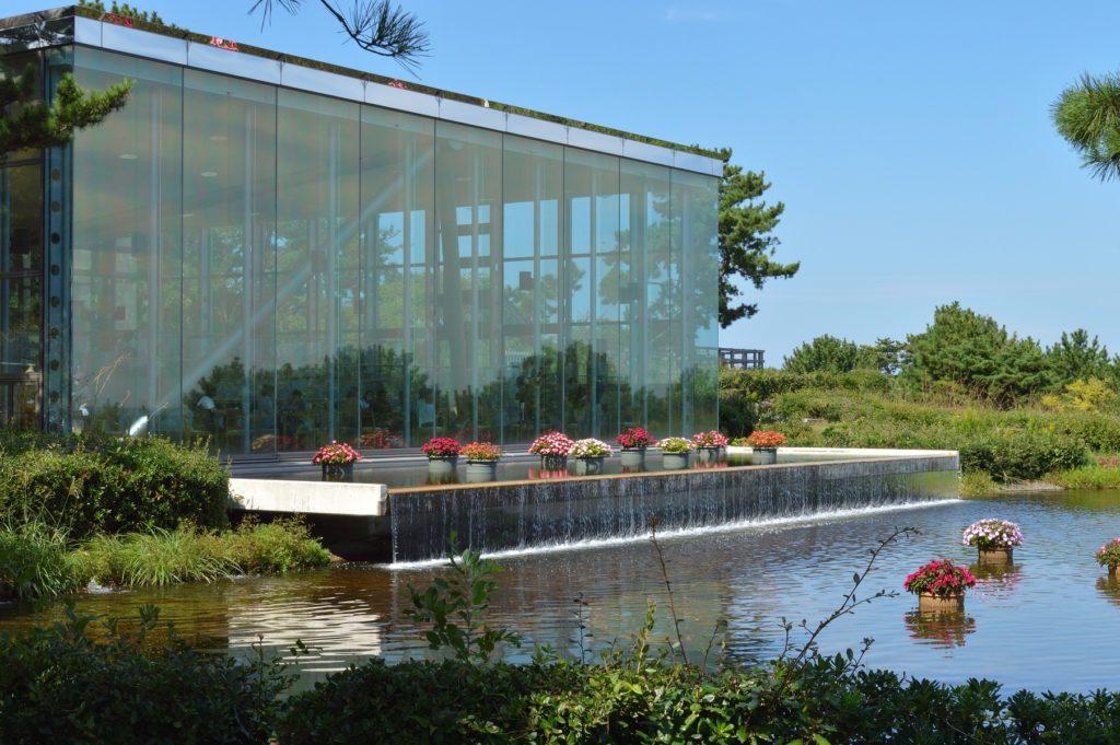 茨城県 ひたち海浜公園 グラスシーサイドカフェの外観その1