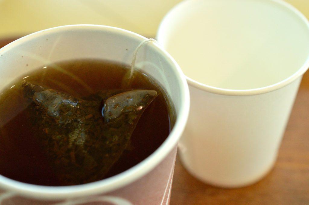 茨城県 ひたち海浜公園 グラスシーサイドカフェ さしま紅茶の紙コップ01