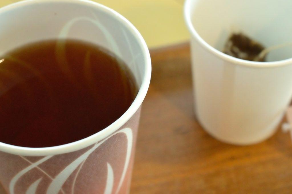 茨城県 ひたち海浜公園 グラスシーサイドカフェ さしま紅茶の紙コップ02