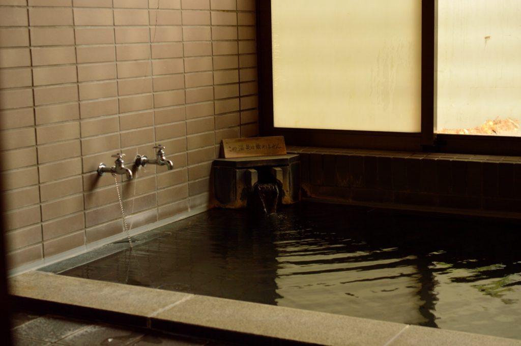 2019年秋の裏磐梯 ふれあい温泉 湖望 浴槽