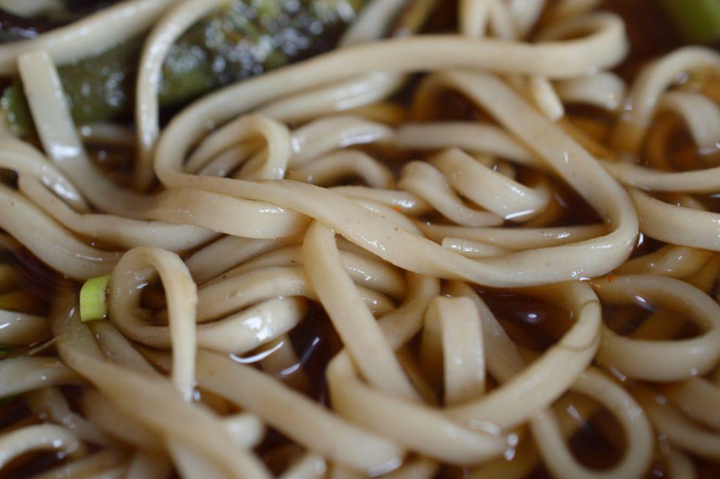 2019年秋の裏磐梯 ランチは牛木屋 セットメニューC 三歳蕎麦 (1)