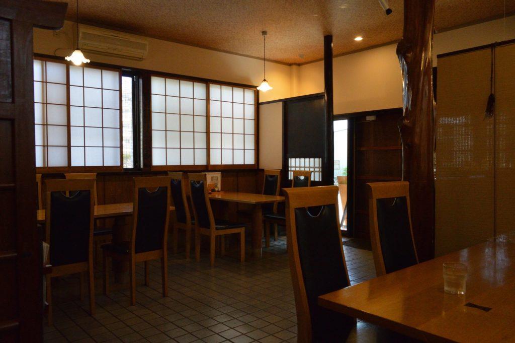 水戸 水府庵 店内の座席 (1)