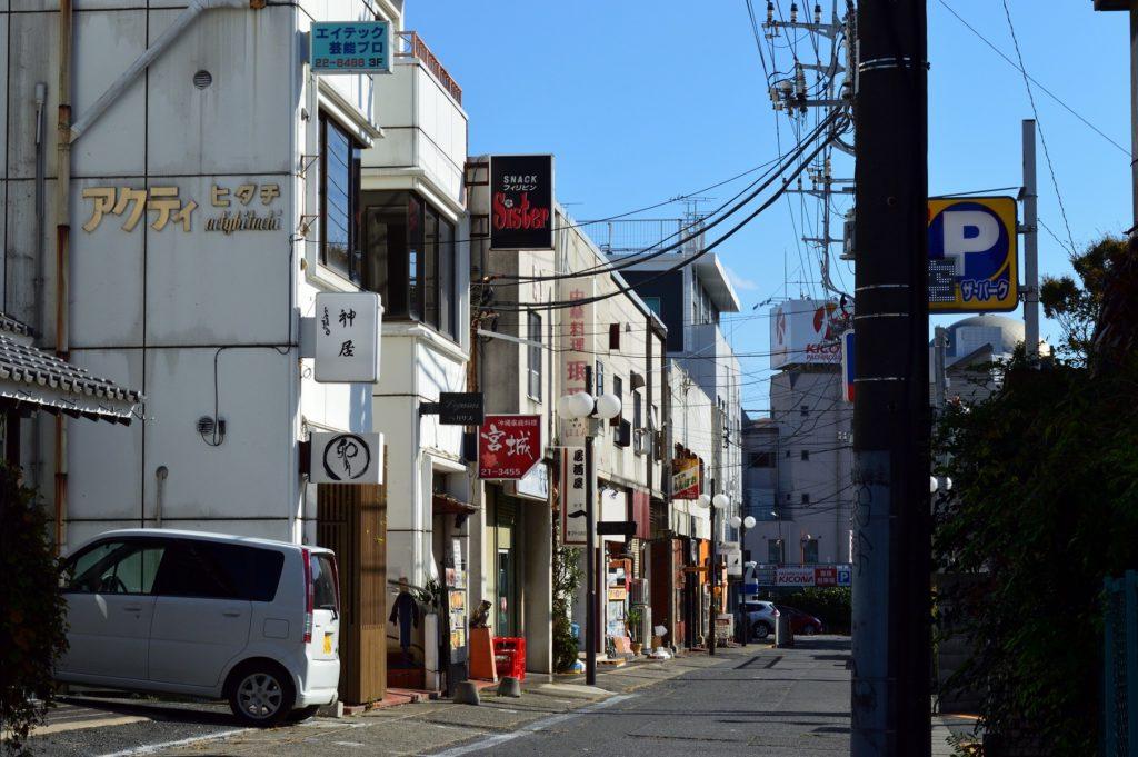 茨城県日立市 中華料理 珉珉 お店の外観 (1)