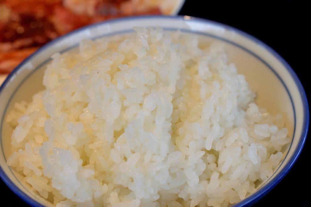 茨城県水戸市 焼肉大門 ご飯