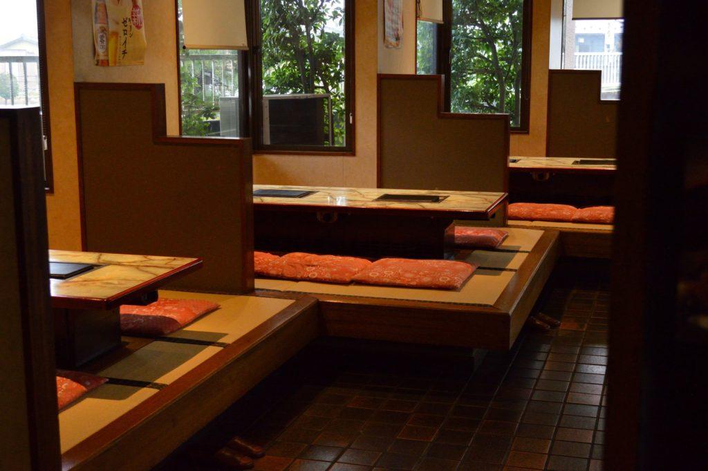茨城県水戸市 焼肉大門 店内の様子 (3)