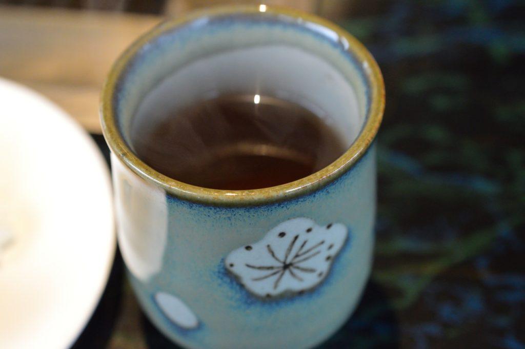 茨城県水戸市 焼肉大門 食後のお茶
