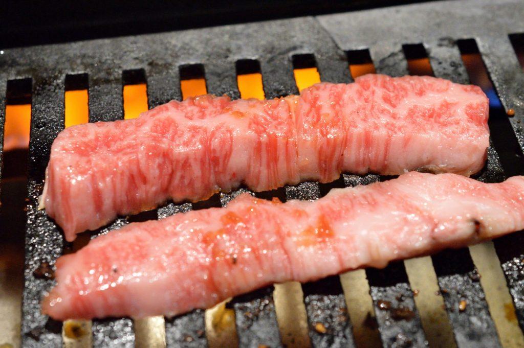 茨城県 ひたちなか市 焼肉レストラン風林 風林火山ランチ カルビ (5)