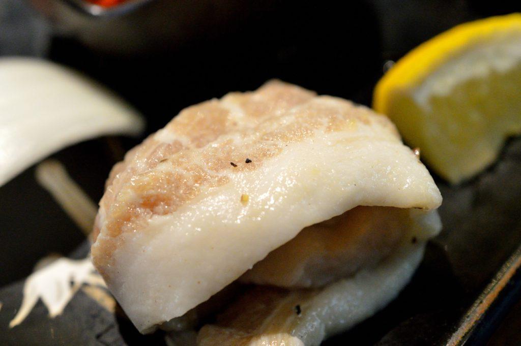 茨城県 ひたちなか市 焼肉レストラン風林 風林火山ランチ 豚トロ (1)
