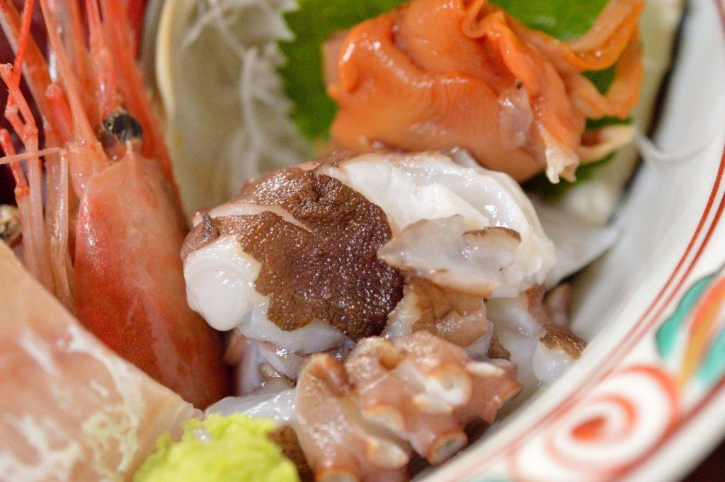 茨城県 ひたちなか市 魚の美味しい店 たがや お刺身定食 (13)