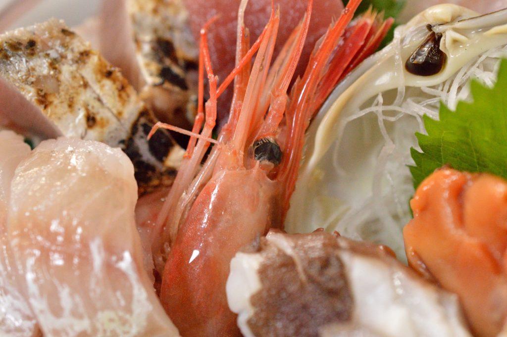 茨城県 ひたちなか市 魚の美味しい店 たがや お刺身定食 (5)