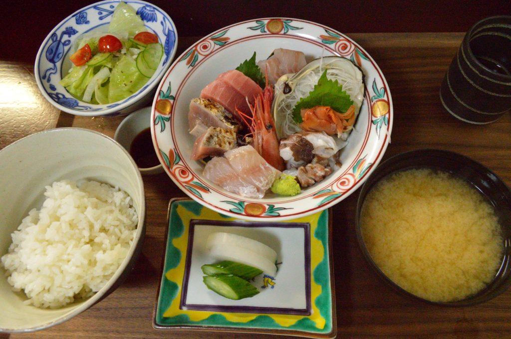 茨城県 ひたちなか市 魚の美味しい店 たがや お刺身定食 (9)