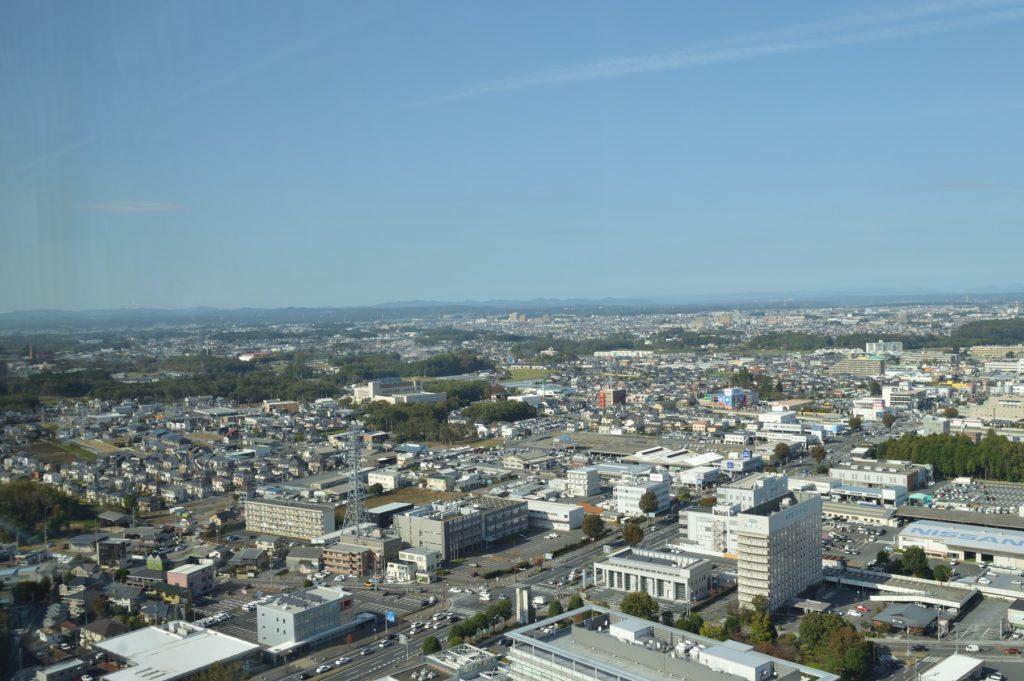 茨城県 県庁 展望ロビーからの展望 (1)