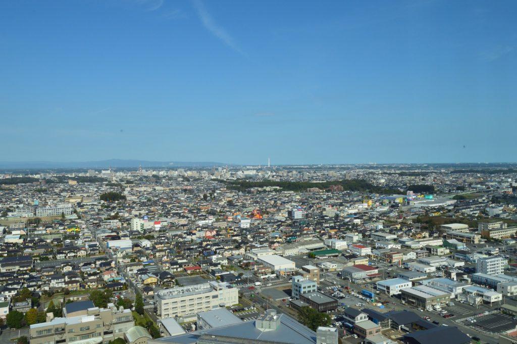 茨城県 県庁 展望ロビーからの展望 (2)