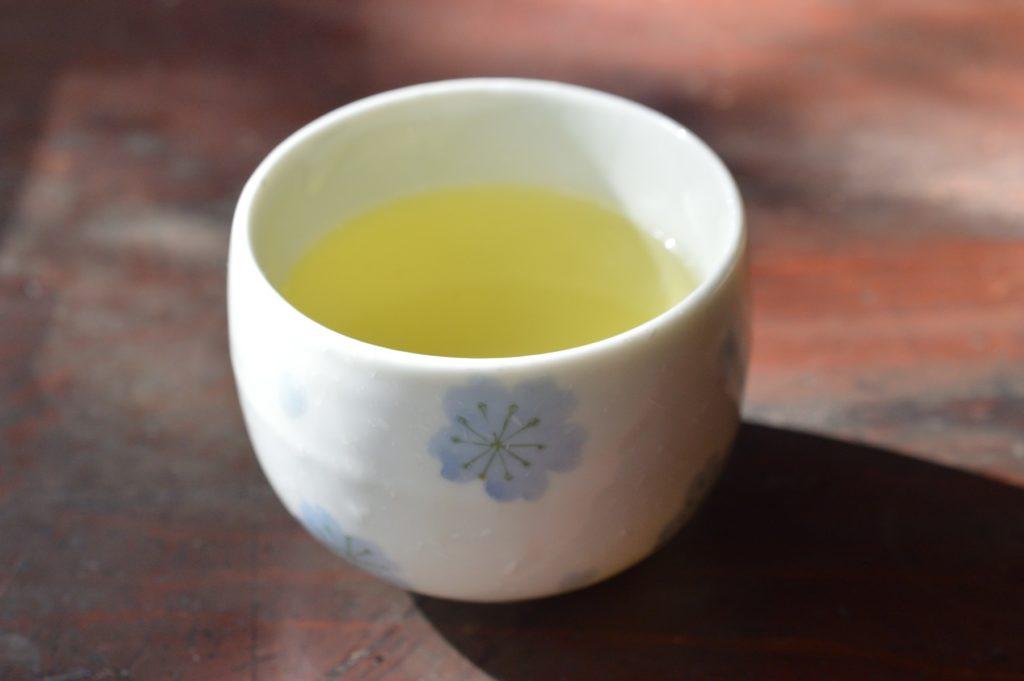 茨城県 那珂市 そば処 麦家 お茶