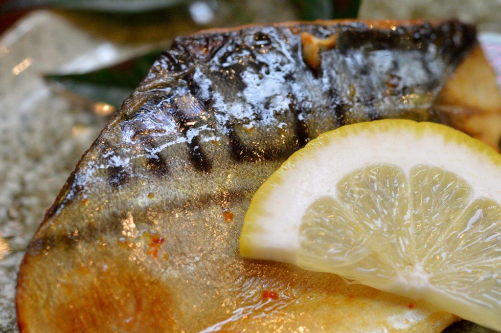 茨城県ひたちなかし 蛇の目 ランチ サバ