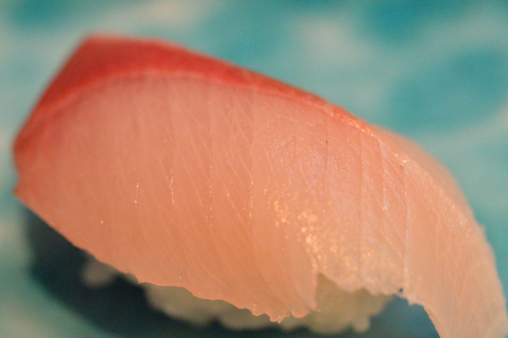 茨城県ひたちなか市 ひかり寿司 特上握り カンパチ