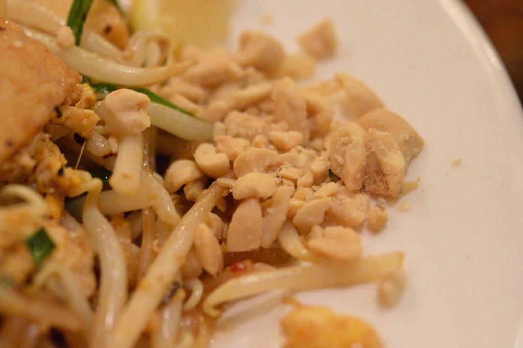 茨城県ひたちなか市 タイ料理 ラカントーン エビ焼きそば (4)