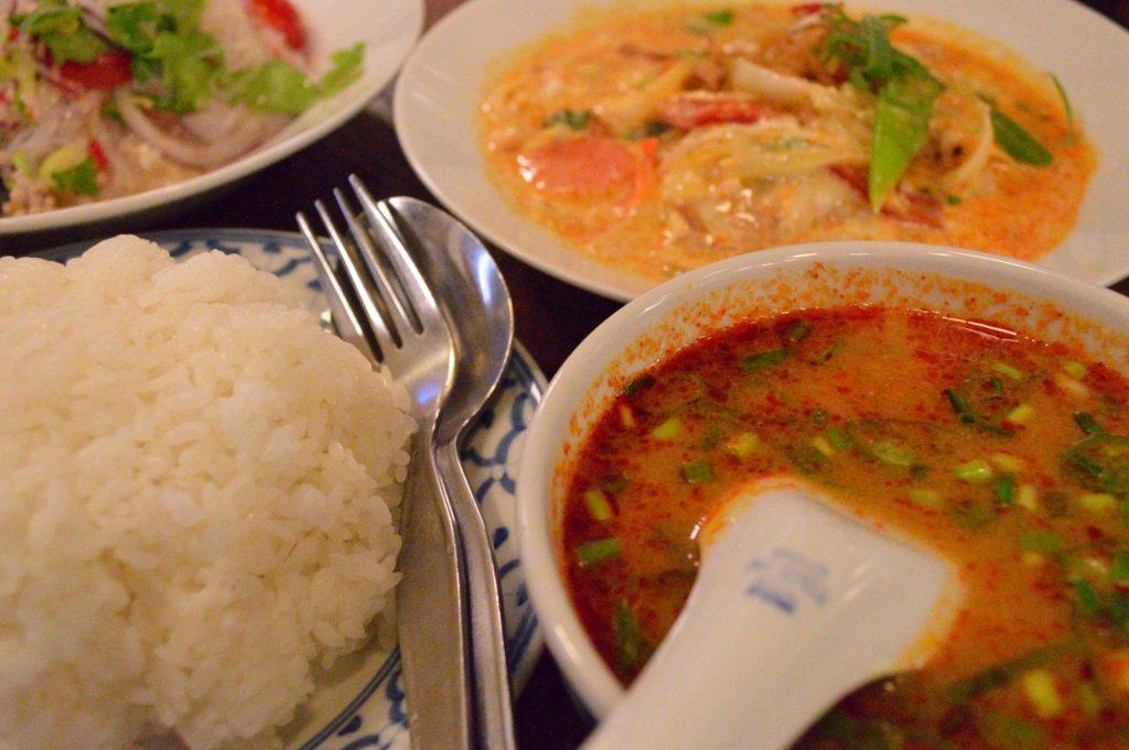 茨城県ひたちなか市 タイ料理 ラカントーン スペシャルランチA (9)