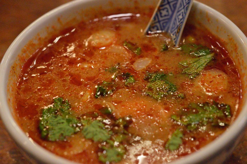 茨城県ひたちなか市 タイ料理 ラカントーン トムヤムクン 単品
