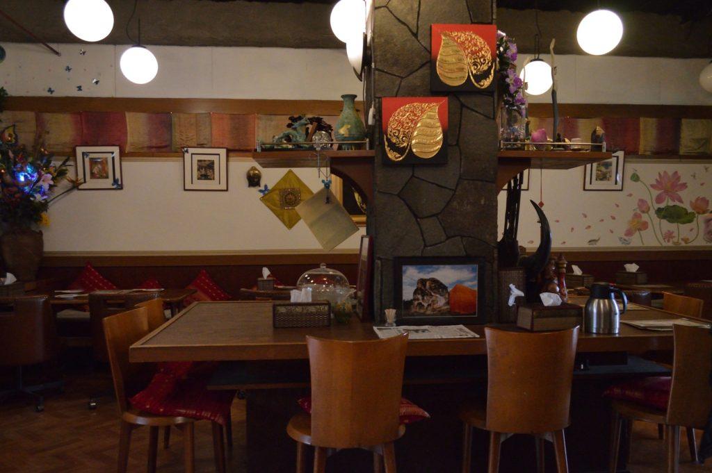 茨城県ひたちなか市 タイ料理 ラカントーン 店内の様子2 (2)