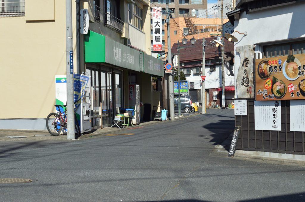 茨城県ひたちなか市 タイ料理 ラカントーン 近くの街の様子 (3)