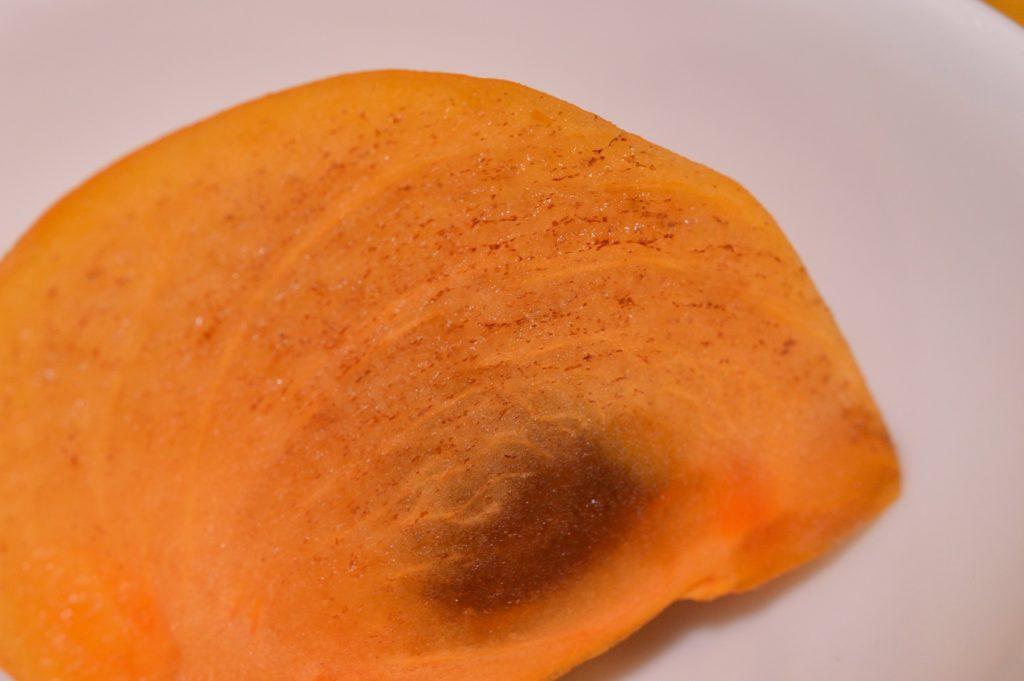 茨城県大洗町 那珂川楼 デザートの柿