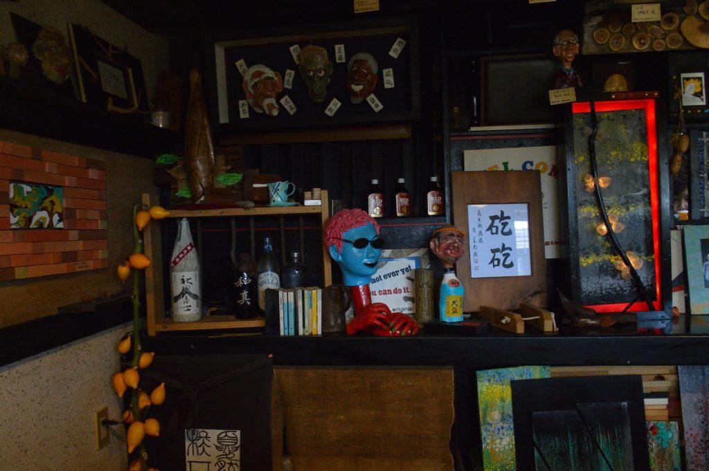 茨城県那珂市 そば然 店内 (4)