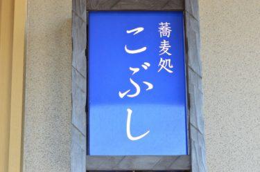 【そば処 こぶし】蕎麦が香る不思議なうどん@茨城県東海村