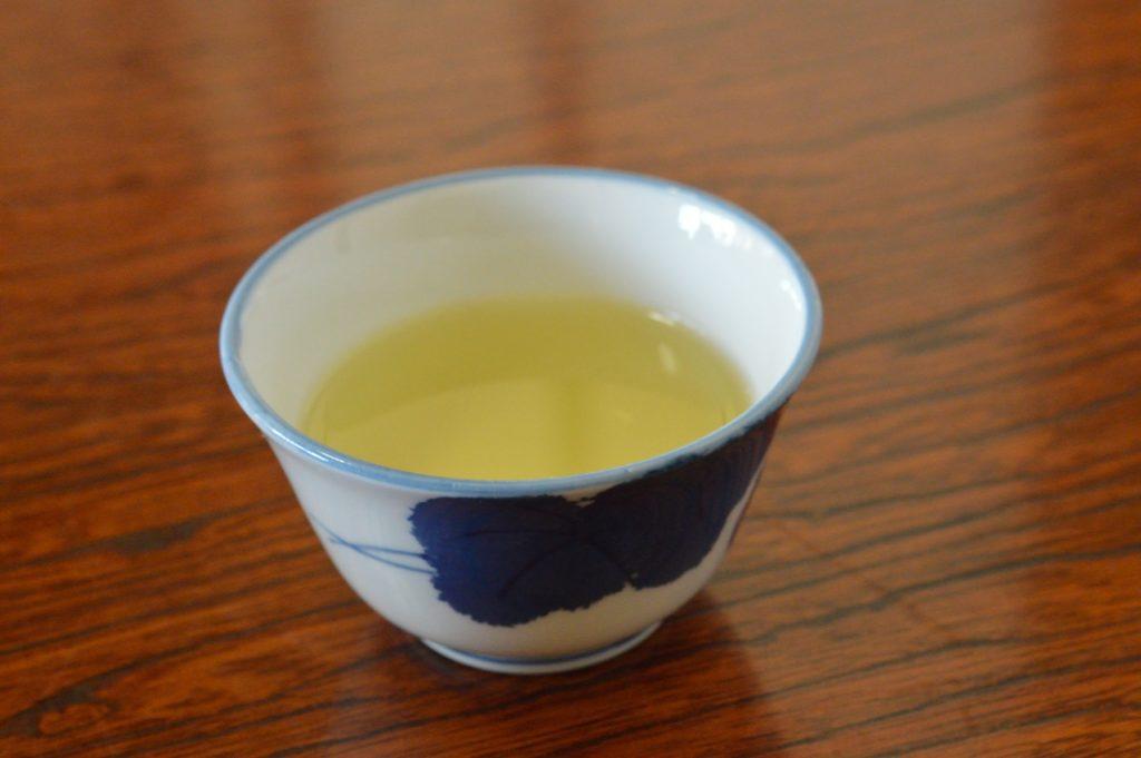 茨城県水戸市 そば処かずき お茶
