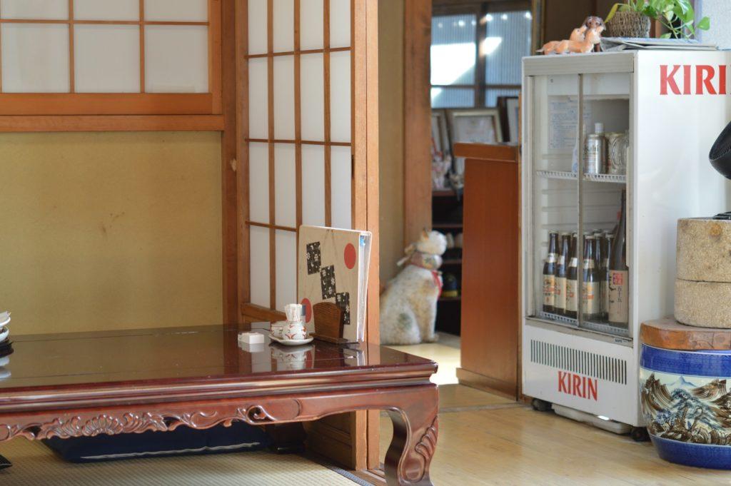 茨城県水戸市 そば処かずき 店内の様子 (5)