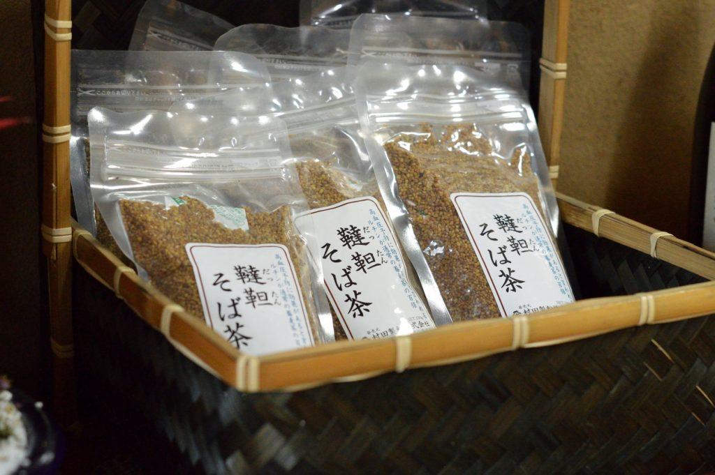 茨城県水戸市 そば処かずき 韃靼そば茶