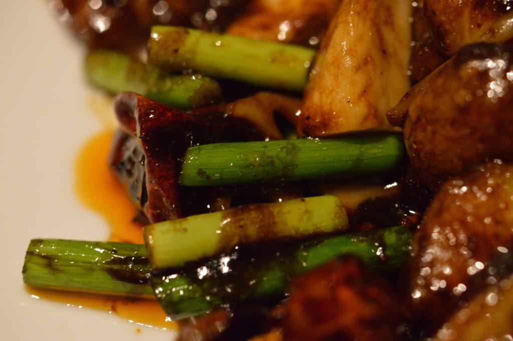茨城県水戸市 中華食堂醤 エビの四川唐辛子炒め (5)